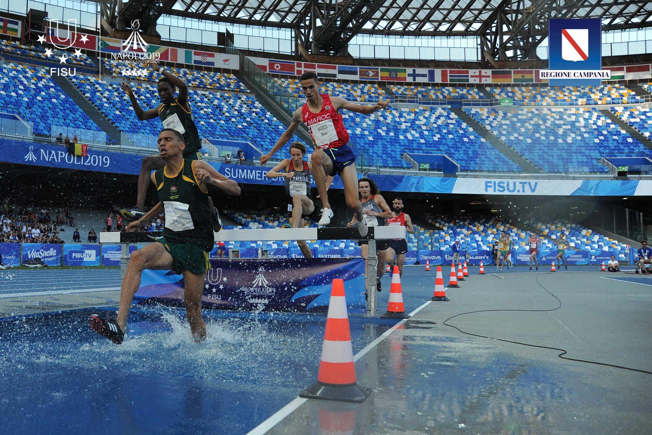 Atletica 21-07-2019  Photo Pool Universiade 2019