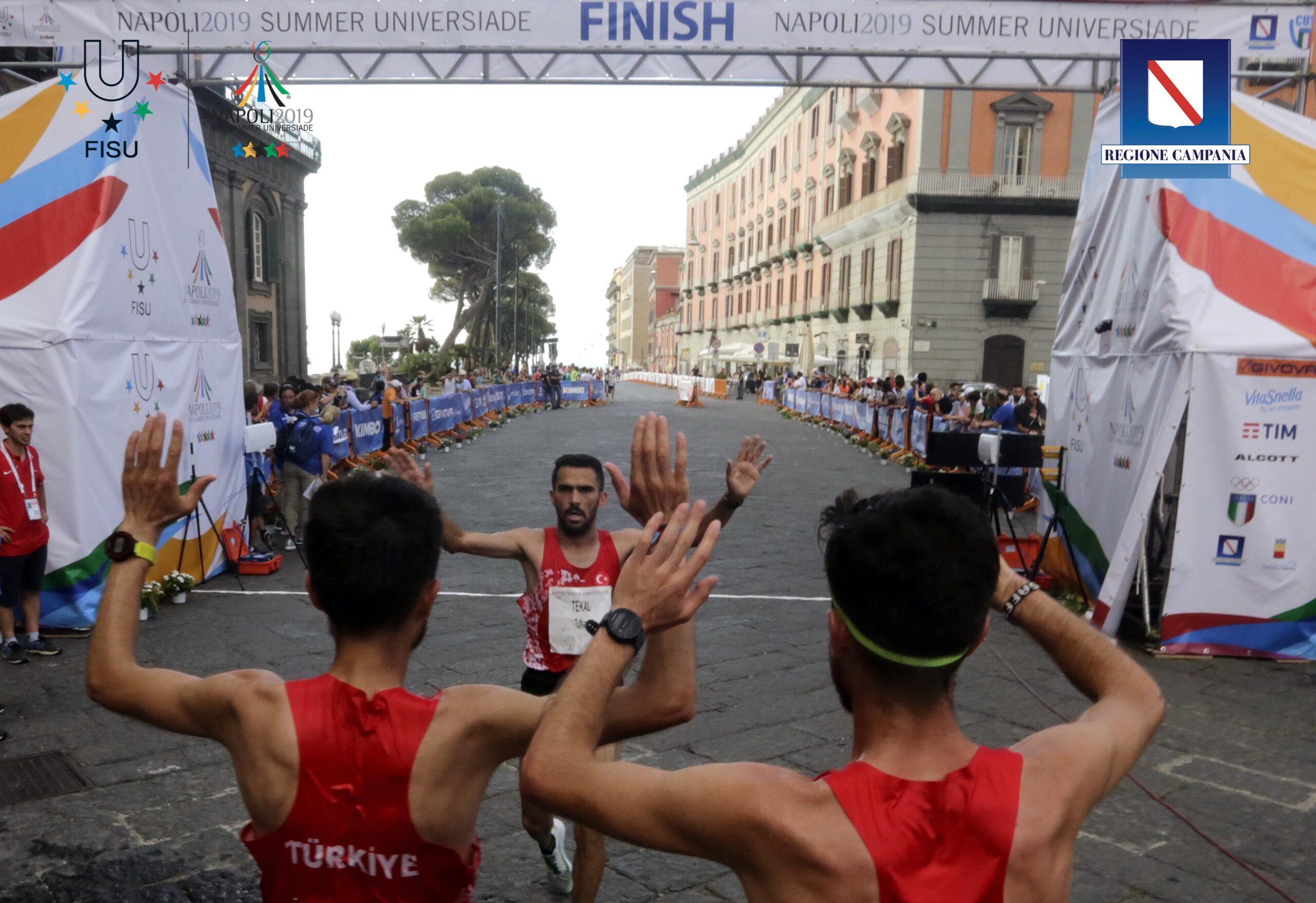 Napoli 13 luglio 2019 Universiade 2019 : MEZZA MARATONA  Ph: Photopool Universiade